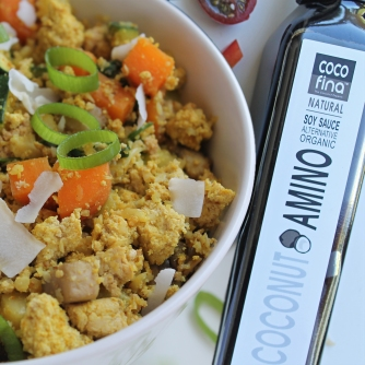 Cocofina Cauliflower Fried Rice with Coconut Amino