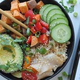 Cocofina Coconut Sushi Bowl with Coconut Amino